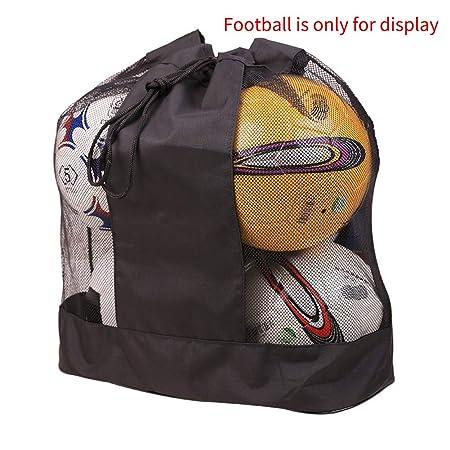 VICV2RO - Bolsa de malla para balón de baloncesto, correa ...