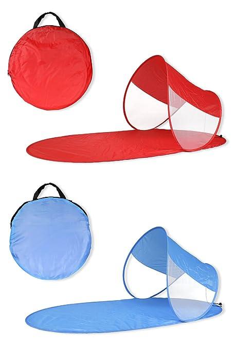 7 opinioni per Vetrineinrete® Stuoia da spiaggia con parasole richiudibile montaggio pop up per