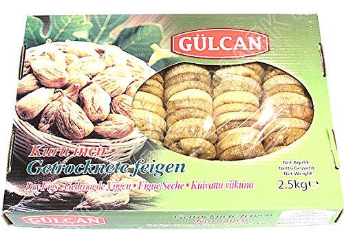 Gülcan Türkische getrocknete Feigen ohne Zusätze 2500g
