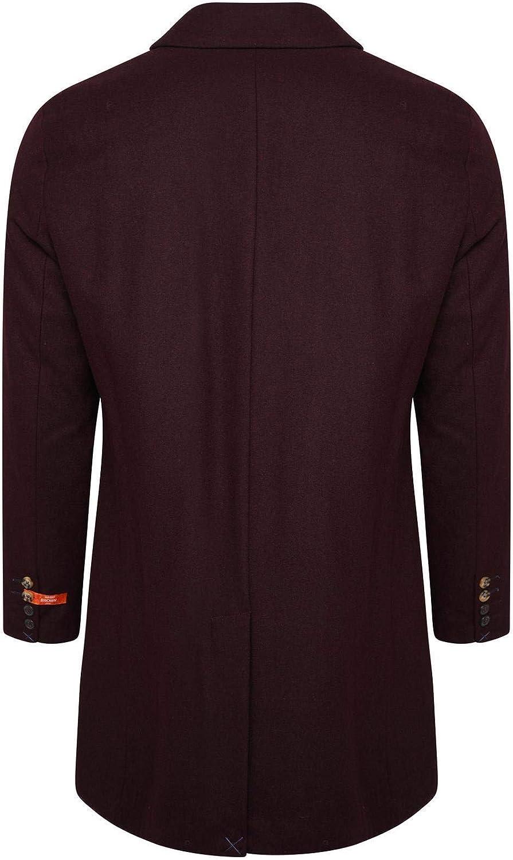 HARRY BROWN Wool Overcoat