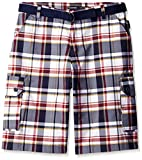 Ecko Unlimited Men's Big and Tall Brghton Plaid Short