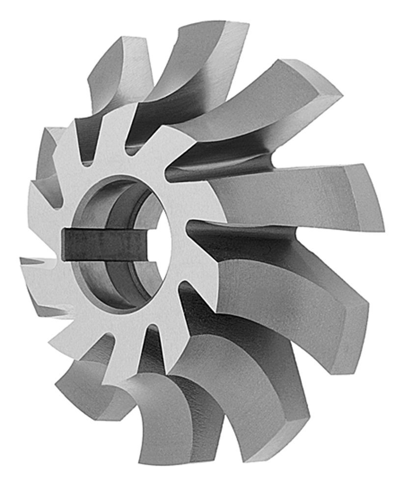 WOF: 1//4 Dia.: 2 Hole Dia.: 7//8 Corner Rounding Milling Cutters Right Hand Radius of Circle: 1//8