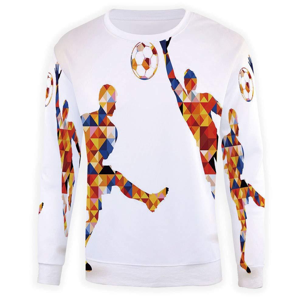 MOOCOM Mens Spires Decor Crewneck Sweatshirt-Unisex