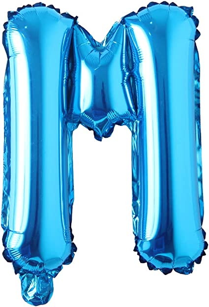 Details about  /Star Print Blue Number Balloons 16 Inch Foil Balloon For Birthday Wedding Party