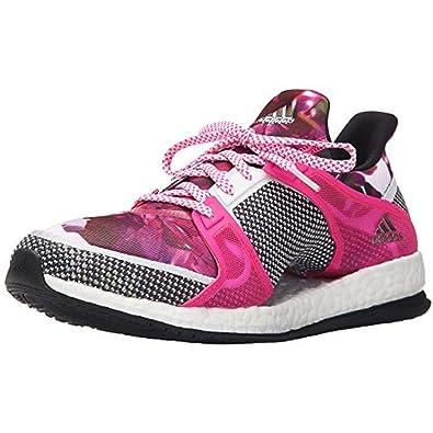 brand new 2644c d203c adidas Womens Pure Boost X TR W Running Shoes, WhiteBlackPink (