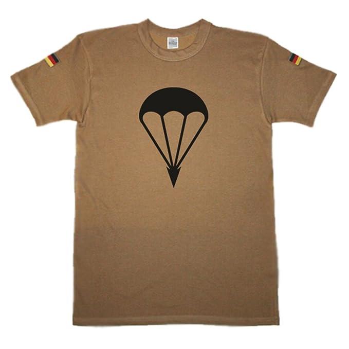 noorsk – Paracaidista fschjg Batallón Springer verdes Teufel nadadores Original Trope Camiseta Camisa De Buceo Después