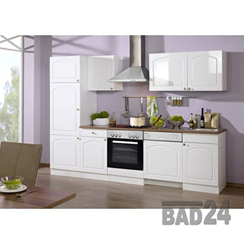 Küchen-Leerblock 280 günstig Braga inkl. Einbau-Spüle & APL ...