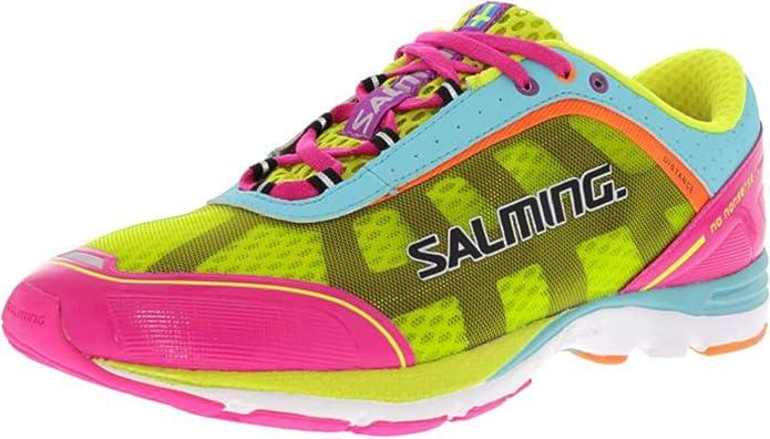 Salming Zapatillas Para Andar Damas Neutral Distance 3 Fucsia ...