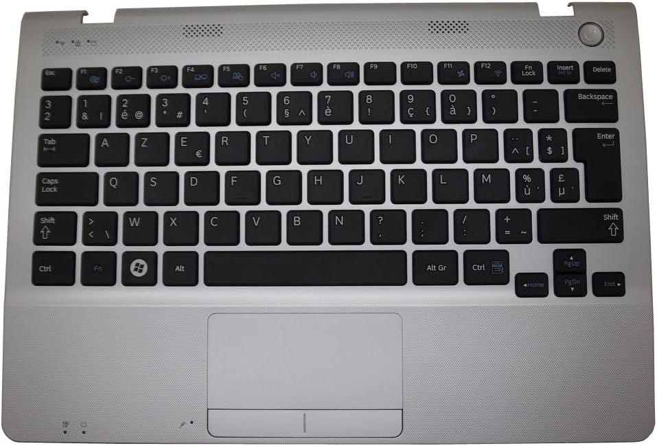 GAOCHENG Laptop PalmRest/&Keyboard for Samsung NP305U1A NP300U1A 305U1A 300U1A Belgium BE BA75-03559G with Touchpad Speaker