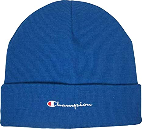 Champion Cappello. Berretto di Lana. Beanie. Pratica vestibilità. Dettaglio  del design. 71b61003be4b