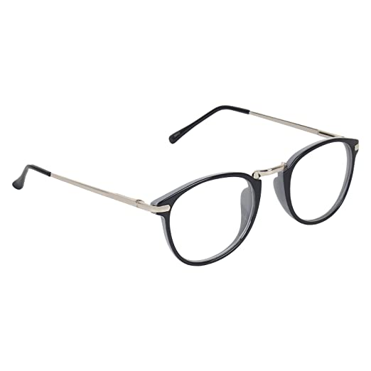 1c61ccd9ec8 Zyaden Full Rim Clubmaster Unisex Spectacle Frame(Frame-A217 50)   Amazon.in  Clothing   Accessories