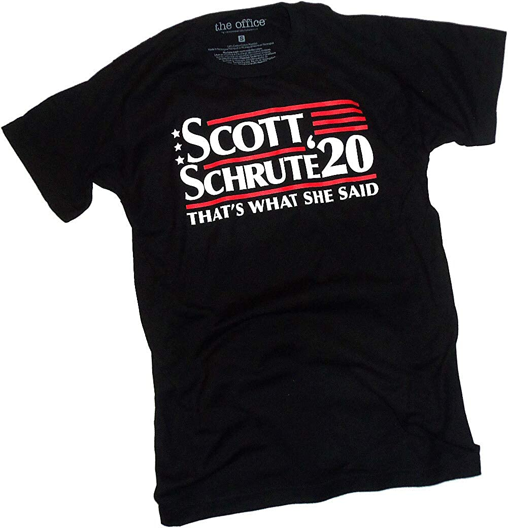 The Office, Scott-Schrute 2020 Election/That's What She Said, Adult T-Shirt