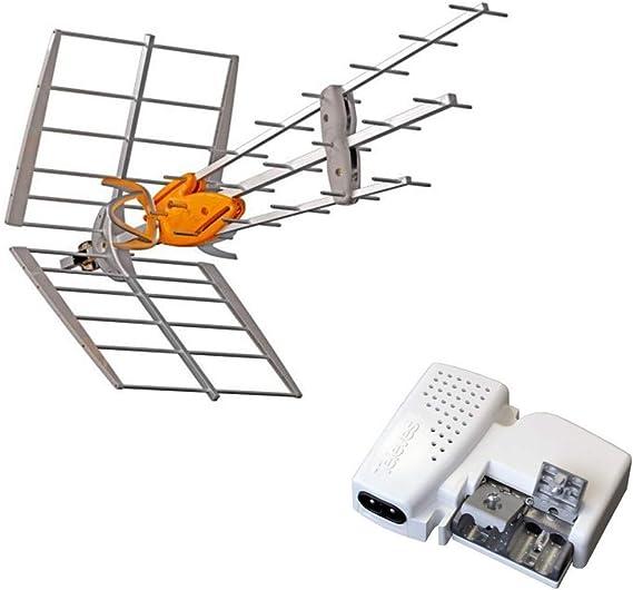 TELEVES - Pack 149921 DAT Boss Antena UHF Inteligente LTE700 ...