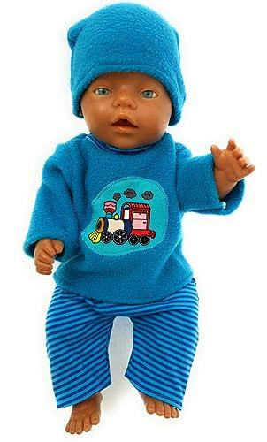 Puppenkleidung passend für Baby Born Babypuppen & Zubehör 43 cm