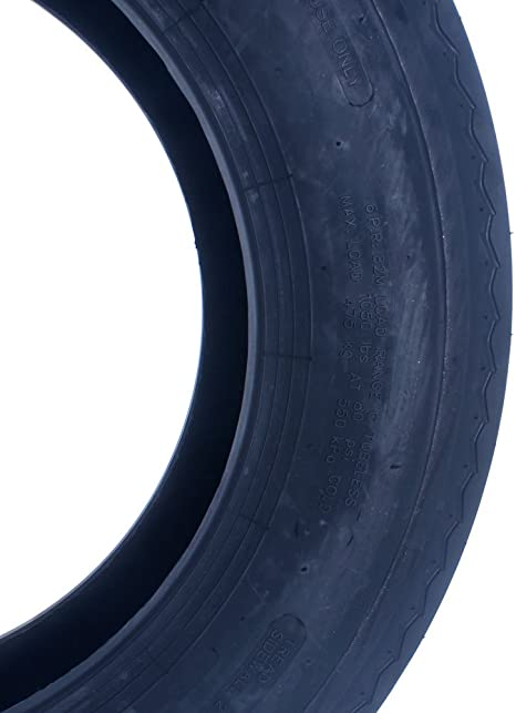 Set Of 1 Tubeless LRC 5.30-12 Trailer Tires Load Range C-11033 6 Ply 5.30x12 530-12 530x12 12 P811 Boat Trailer Tires