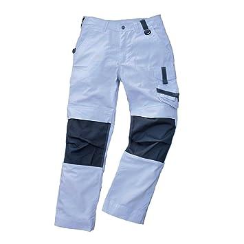 Bundhose Champ weiß-grau Gr Bekleidung & Schutzausrüstung 60
