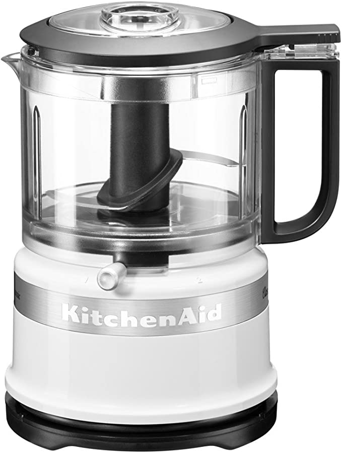 KitchenAid 5KFC3516S Mini robot de cocina clásico, 0.83 litros, 240W, blanco: Amazon.es: Hogar