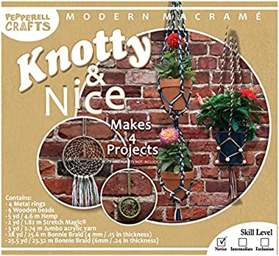 Modern Macrame Knotty & Nice Boxed Kit
