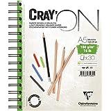 CLAIREFONTAINE Caderno de Desenho, Cray'On, Branco, A5