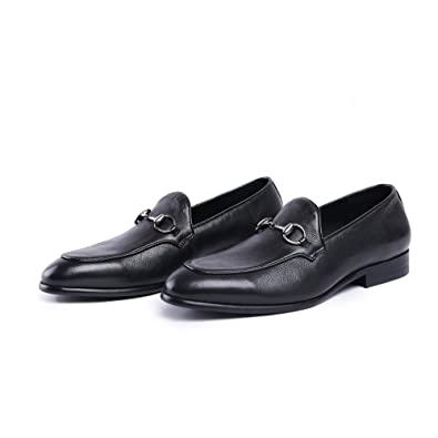New Loafer Shoes/Innovative Penny ShoesGenuine LeatherPlain Round ToeRubber Sole; Fashion and Formal;