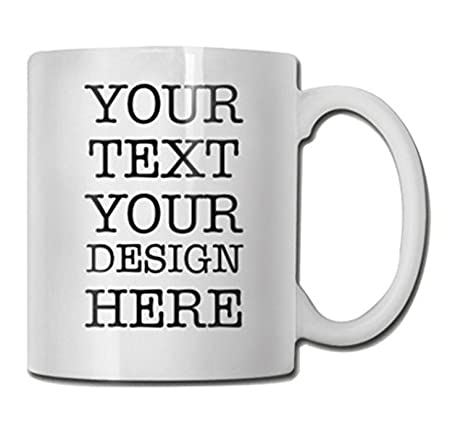 amazon com personalized coffee or tea mug design your own