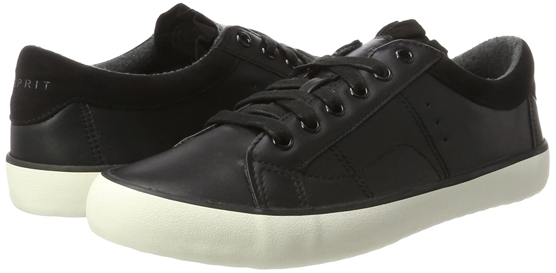 ESPRIT Damen Mandy Lu Sneaker Schwarz (schwarz) (schwarz) Schwarz 02bcd8