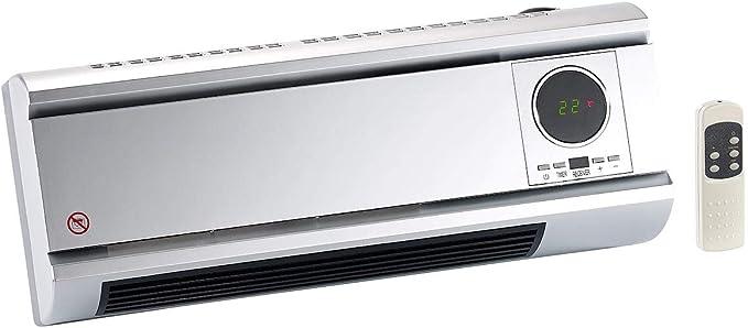 Sichler Haushaltsgerate Heizlufter Keramik Wandheizlufter Mit Digitalem Thermostat Fernbedienung 2000 W Heizlufter Digital Thermostat Amazon De Baumarkt