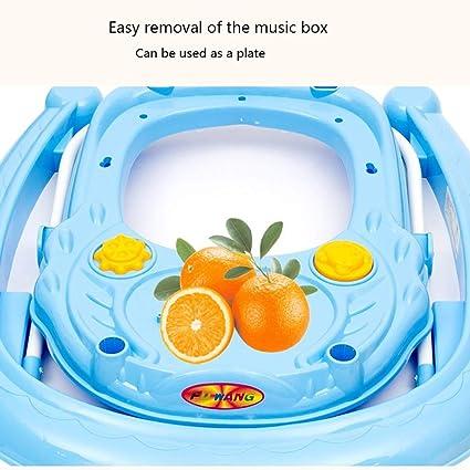 Amazon.com: Baby Go - Andador giratorio redondo con ruedas ...