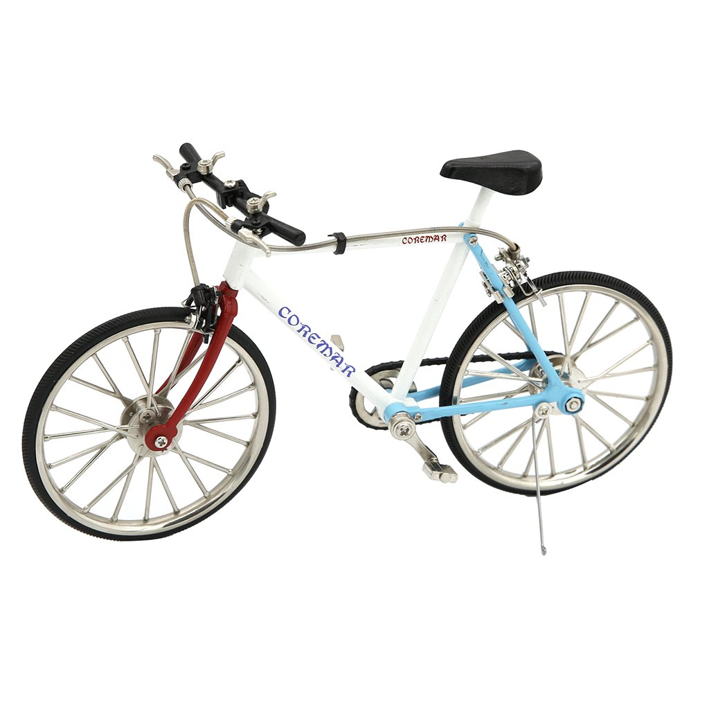 Toygogo Realistic Bicycle 1:10 Scale 3D Metal Road Bike Model Kit, Gift for Bike Model Lover or Collector, for Shopwindow Display or Coffee Bar Ornaments