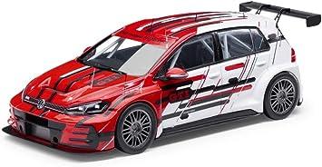 Amazon Com Volkswagen 5gv099300e645 1 43 Golf Gti Tcr Touring Car 2018 Model Car Collection Automotive