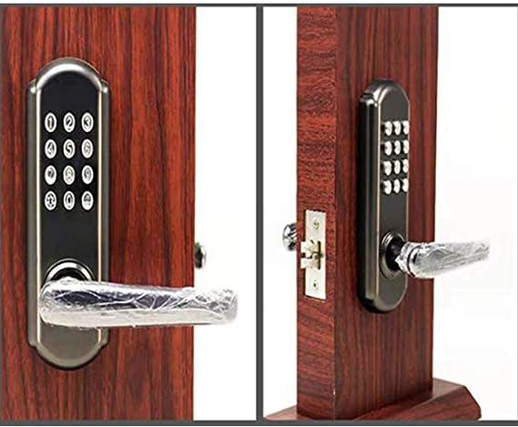 AOEIUV Candado de combinación Digital Cerradura mecánica ...