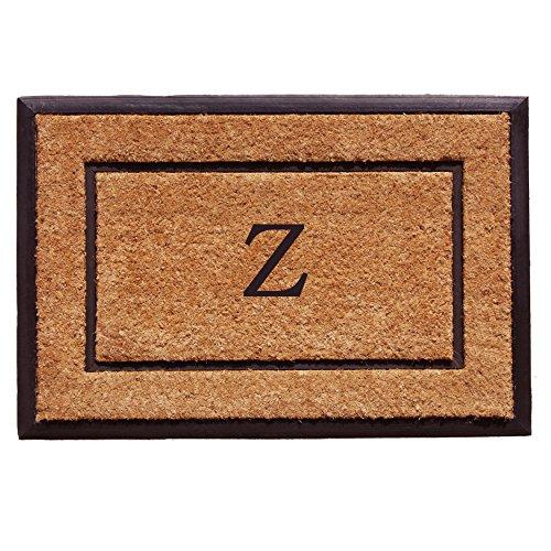 General Letter (Home & More 101632436Z The General Monogram Doormat, Letter Z)