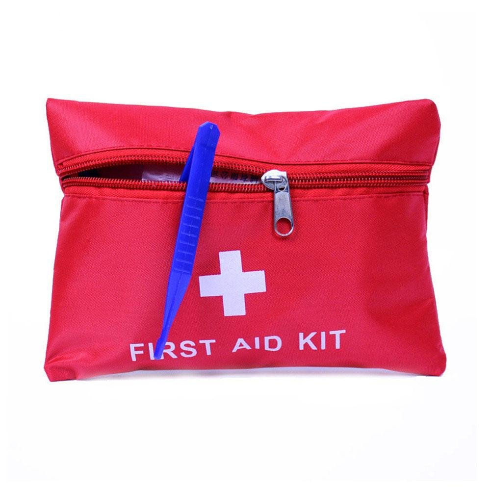 Gracefulvara 35pcs Small First Aid Kit For Emergency Safety Travel Sports Home Office Car