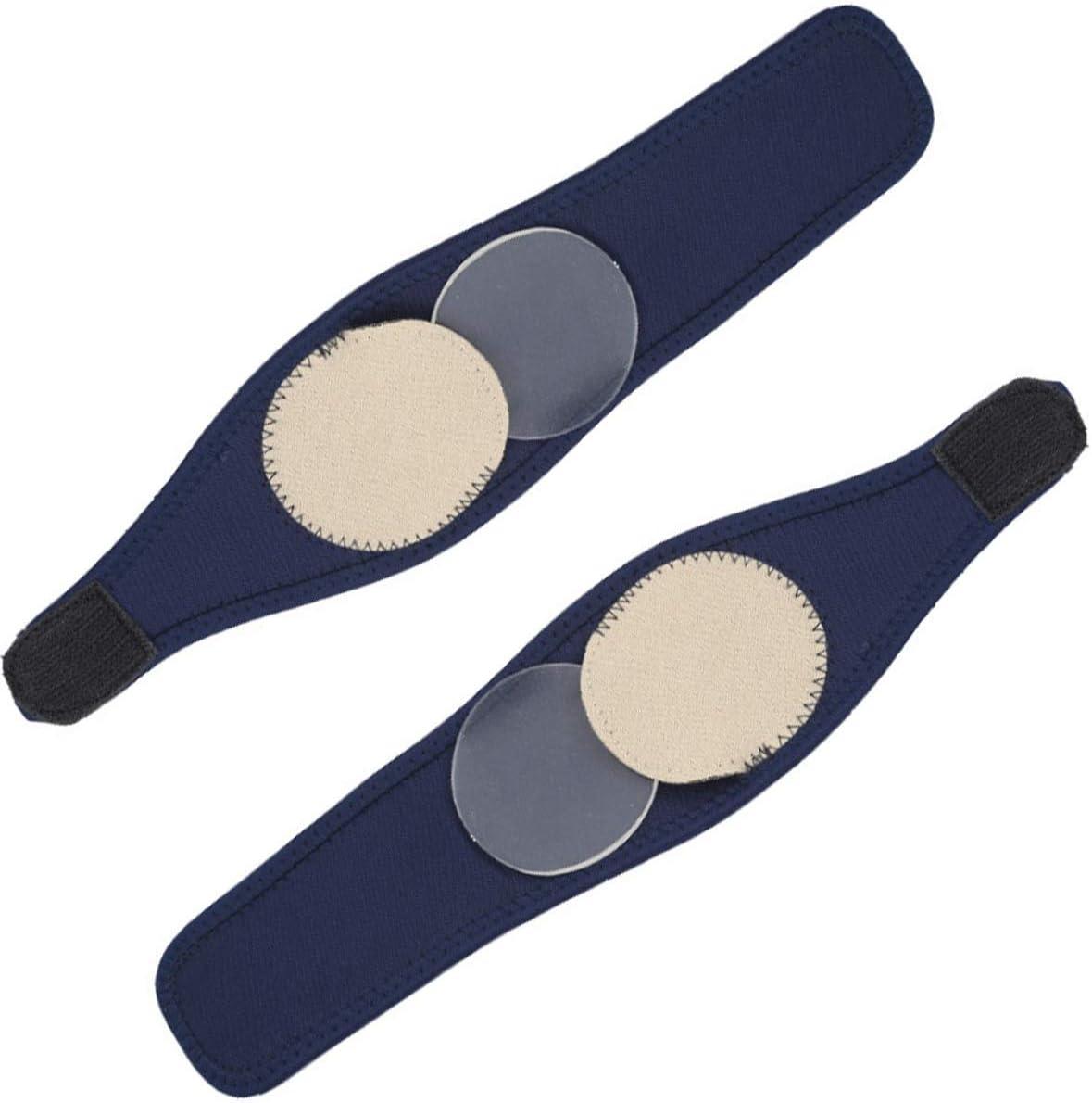 HaiQianXin 1 par Transpirable Arco elástico ortesis Vendaje Plantillas ortopédicas Almohadillas para los pies para el talón Alivio para el Dolor del pie Fascitis Plantar (Color : Silicone Pad)