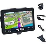GPS Navigators System,WinnerEco Portable Navigation Truck Car GPS Navigator 7inch Touchscreen with Maps Voice Recognition