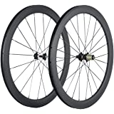Superteam Carbon Fiber Clincher Road Bike Wheelset 700C25 Matt Finish 1 Pair