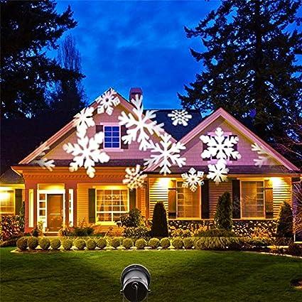 ingeniuso christmas light show led laser light projector motion spotlights - Led Laser Christmas Lights