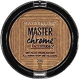 Maybelline New York Facestudio Master Chrome Metallic Highlighter Makeup, Molten Topaz, 0.19 oz.