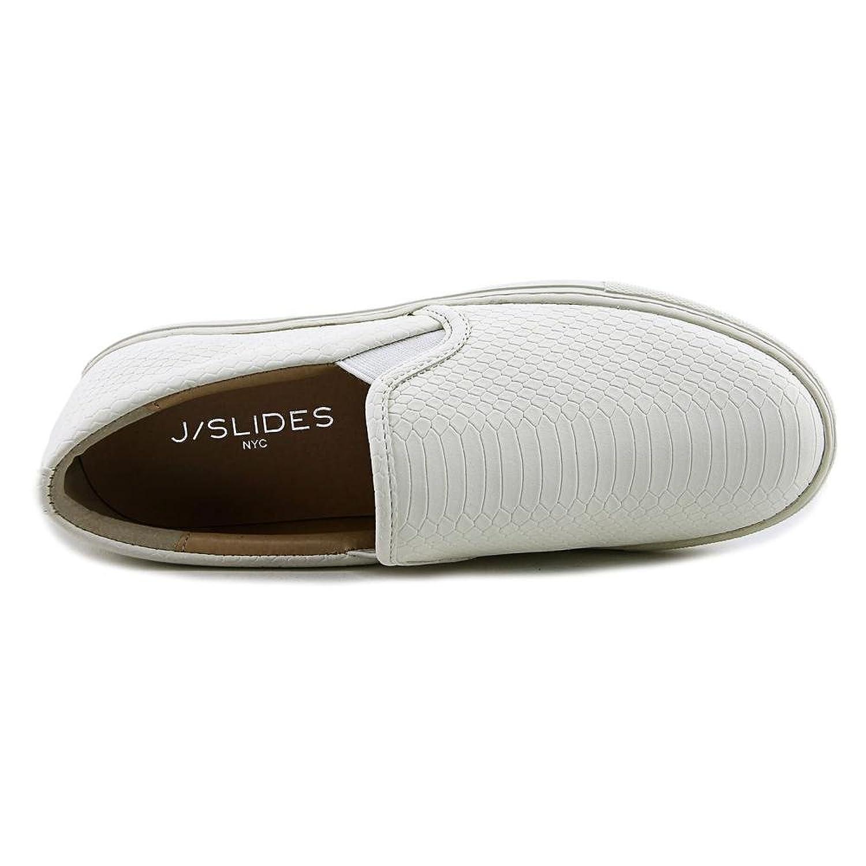 c2db8b18bada8 Amazon.com: J/Slides Cyla Round Toe Synthetic Loafer: Shoes