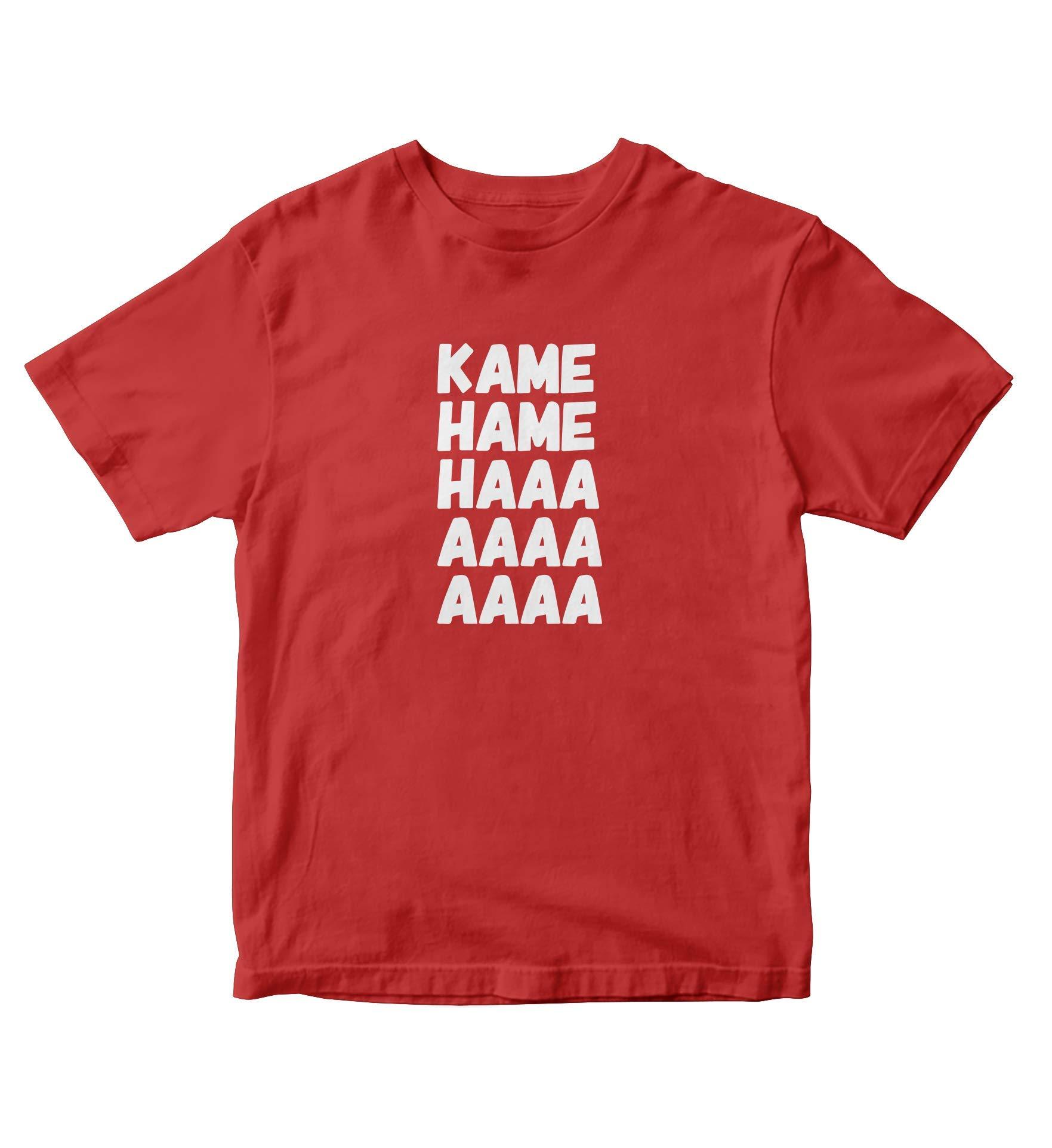 Kame Hame Haaa Shirt Anime Manga Man S Red A829