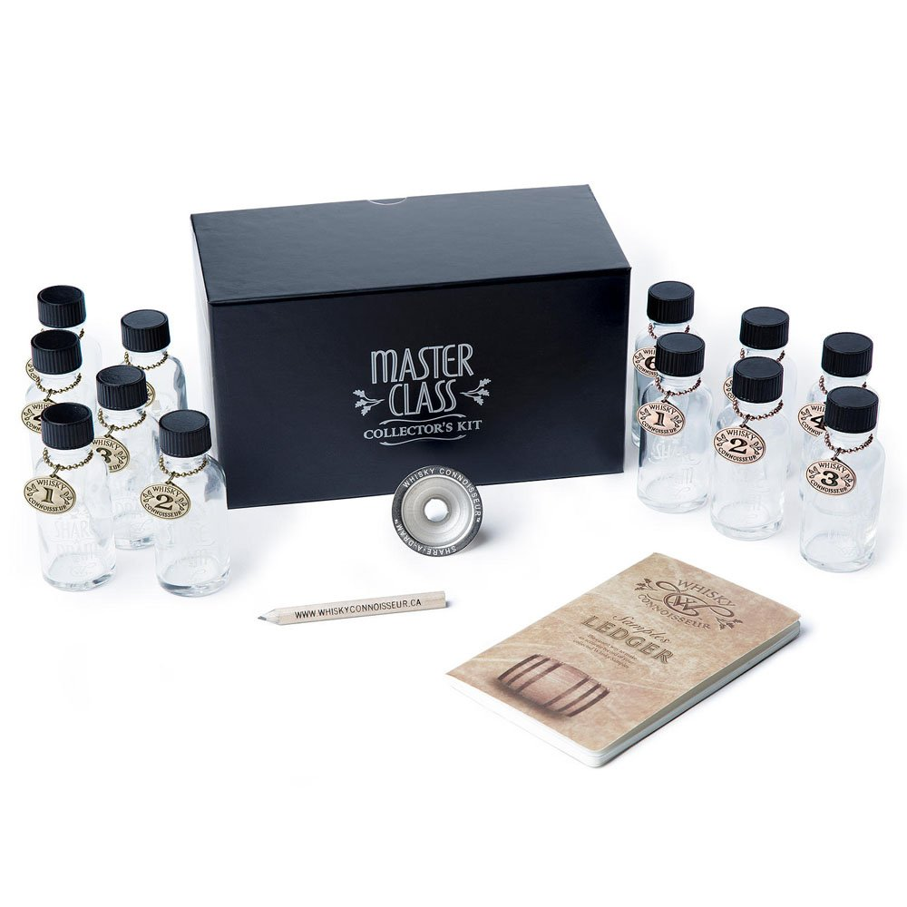 Whisky Connoisseur Master Class Whisky Collector's Travel Kit. Never Leave A Good Whisky Behind.