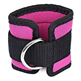 Adjustable Fitness Exercise Leg Strength Training D-ring Ankle Strap ankle weights