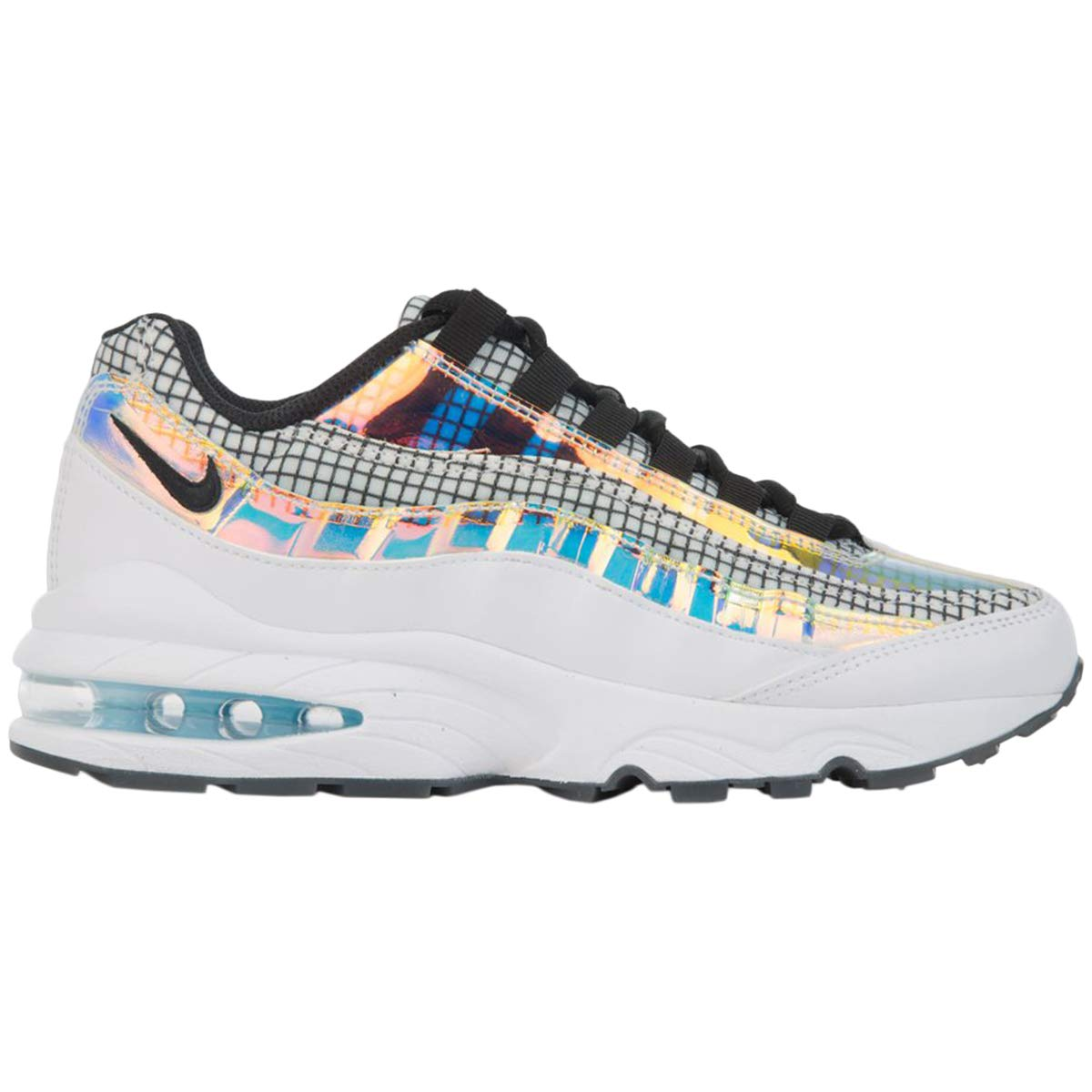 Nike Youth Air Max 95 LV8 Synthetic Mesh Trainers