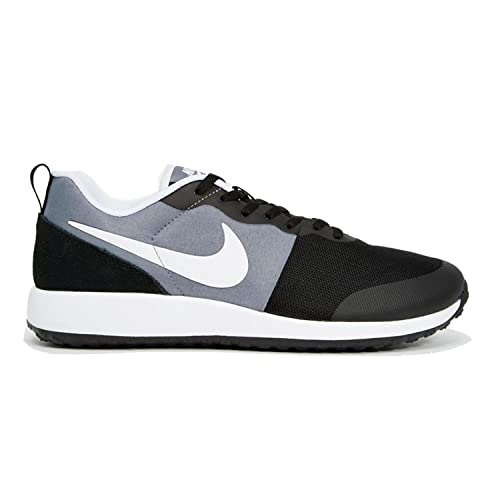 Nike Mens Elite Shinsen Black White Mesh Trainers 11.5 US