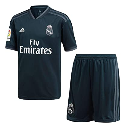 71ed37335 Image Unavailable. Image not available for. Color: adidas 2018-2019 Real  Madrid Away Full Kit ...