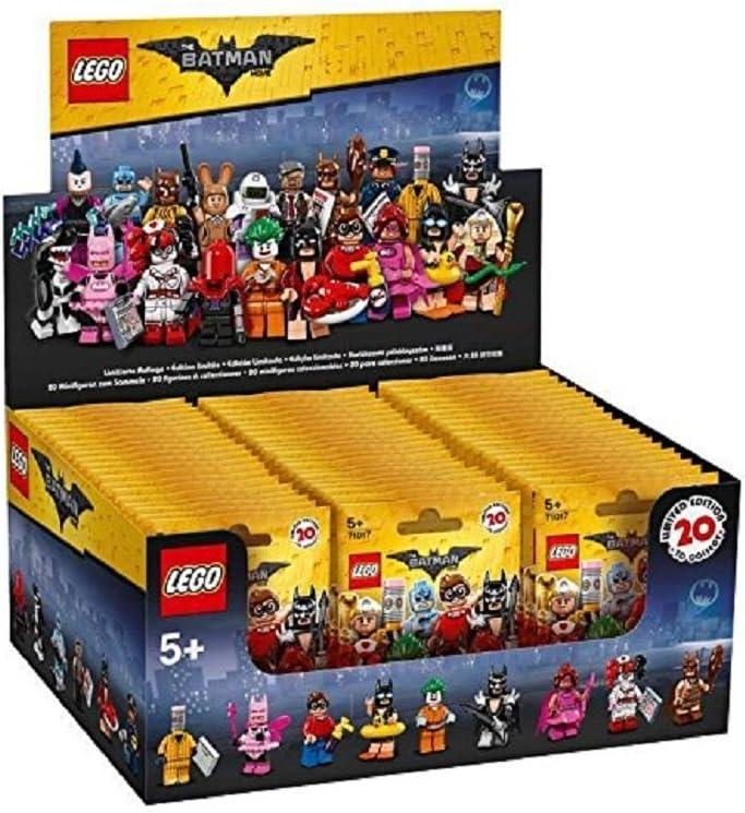 LEGO Batman Movie Series Sealed Box Case of 60 Blind Bags Minifigures 71017