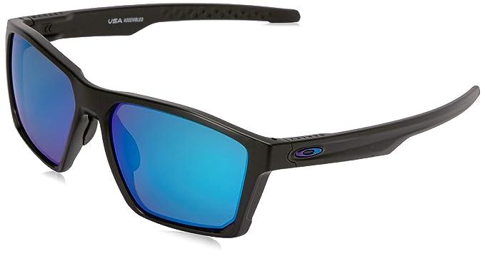 Oakley Men s Targetline Non-Polarized Iridium Square Sunglasses, Areo Matte  Black, ... 34522d9b3d