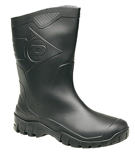 Dunlop Hombres duk680211 Botas - Negro, 4 UK