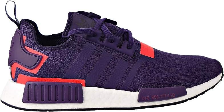 Amazon Com Adidas Nmd R1 Mens Shoes Legend Purple Legend Purple