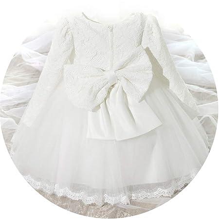 Vestido de cumpleaños para bebé recién Nacido, Vestido de Bautizo ...